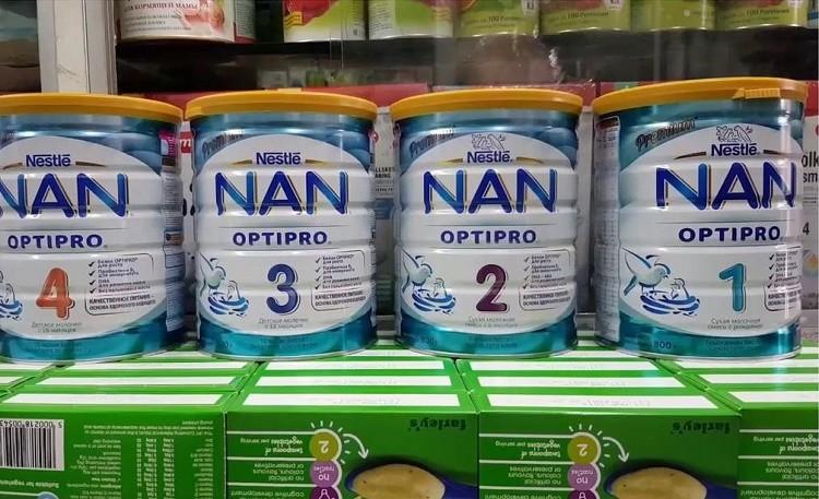 Sữa bột Nan Nga là sản phẩm được khá nhiều bà mẹ bỉm sữa tin dùng