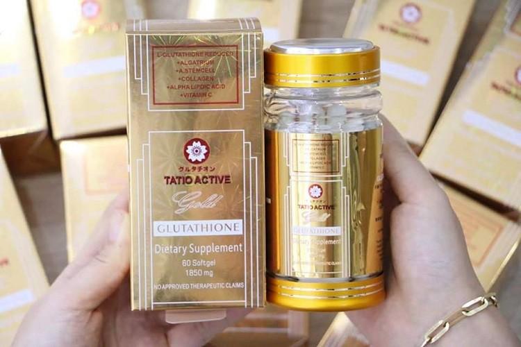 Tatio Active DX Gold Glutathione 1850mg