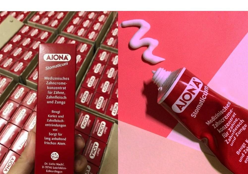 Kem đánh răng Ajona sử dụng công thức độc đáo