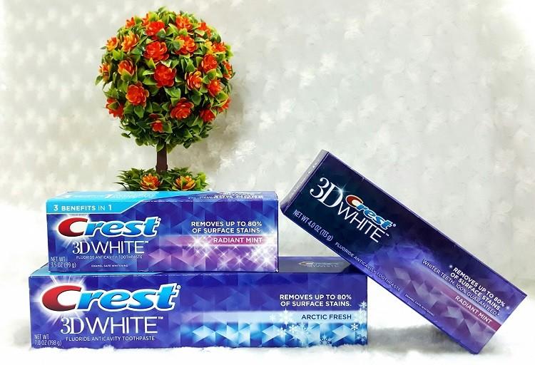 mua kem đánh răng Crest 3D White ở địa chỉ uy tín