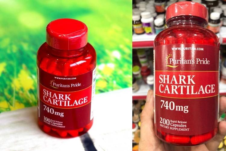 Sụn cá mập của Mỹ Shark Cartilage Puritan's Pride