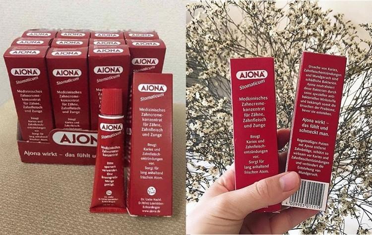 Công dụng kem đánh răng Ajona