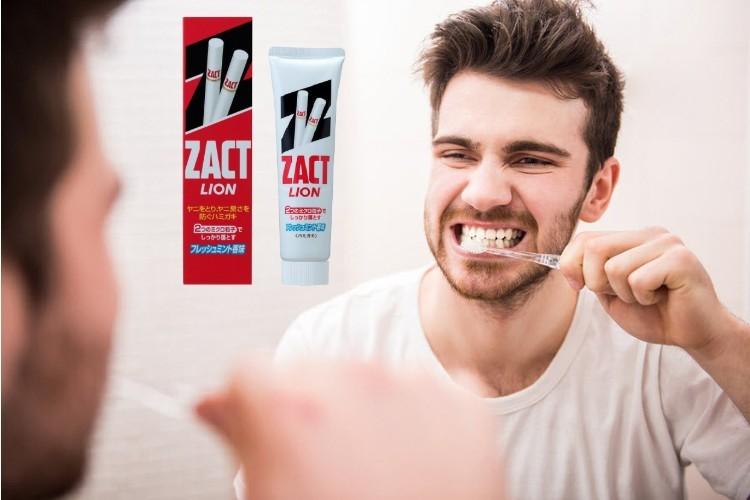 Kem đánh răng Zact Lion