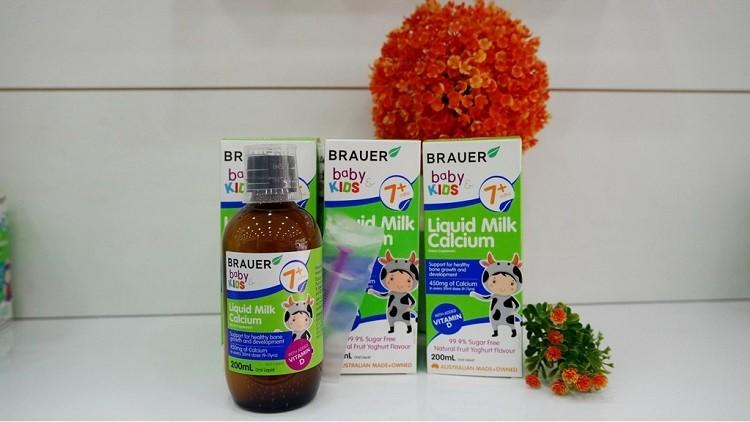 Canxi Brauer Liquid Milk Calcium 200ml