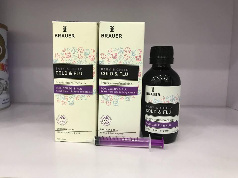 Siro Brauer Cold & Flu