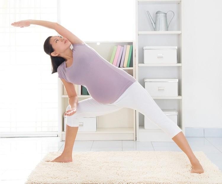 Tập thể dục phù hợp khi mang thai