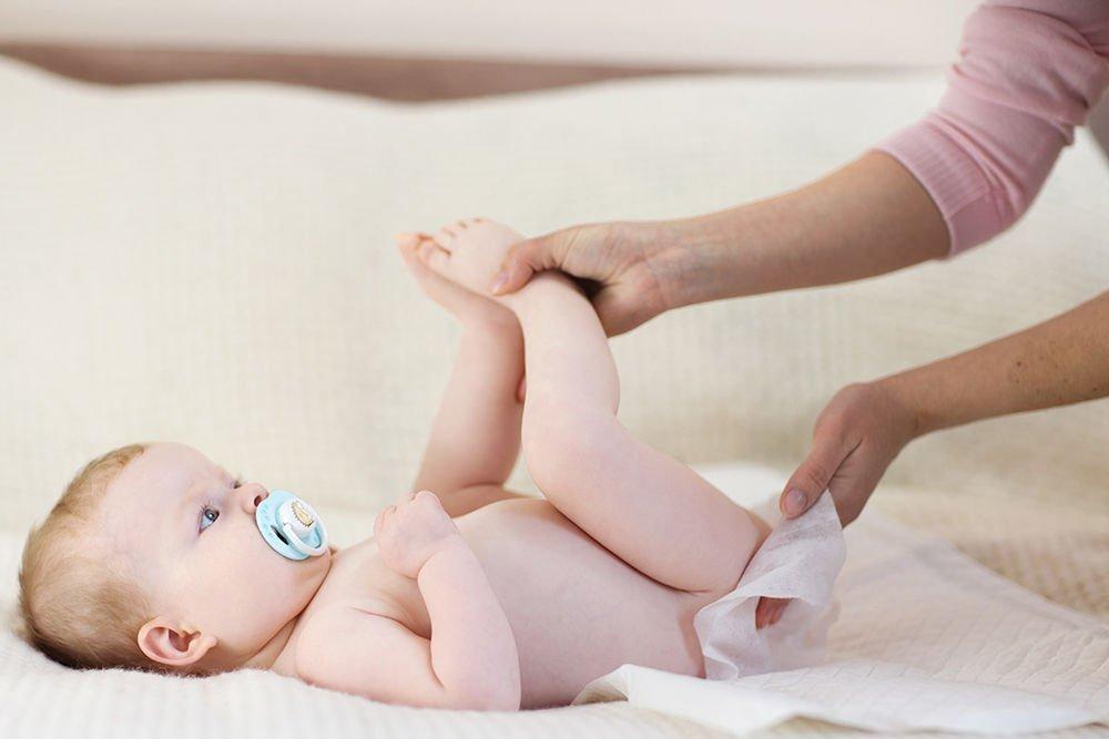 Hăm tã ở trẻ là tình trạng da không được khỏe