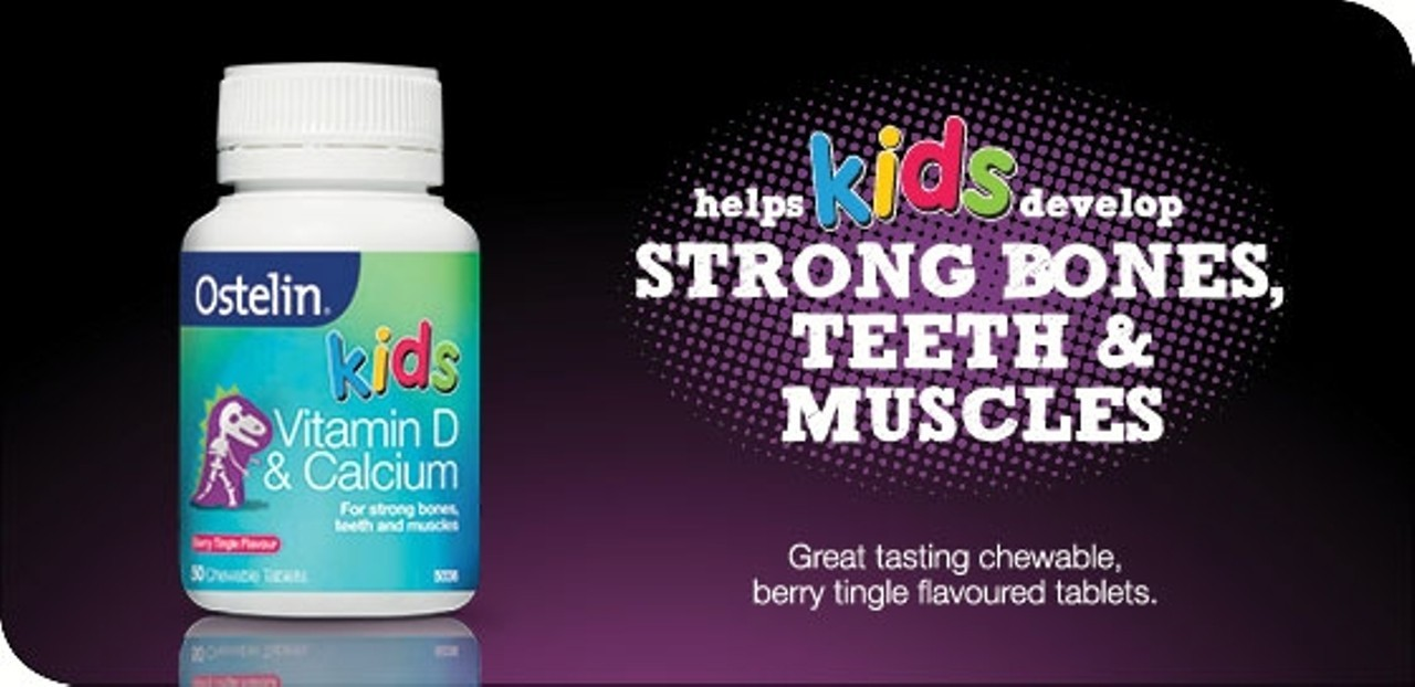 Ostelin Kids Milk Canxi & Vitamin D3 Liquid