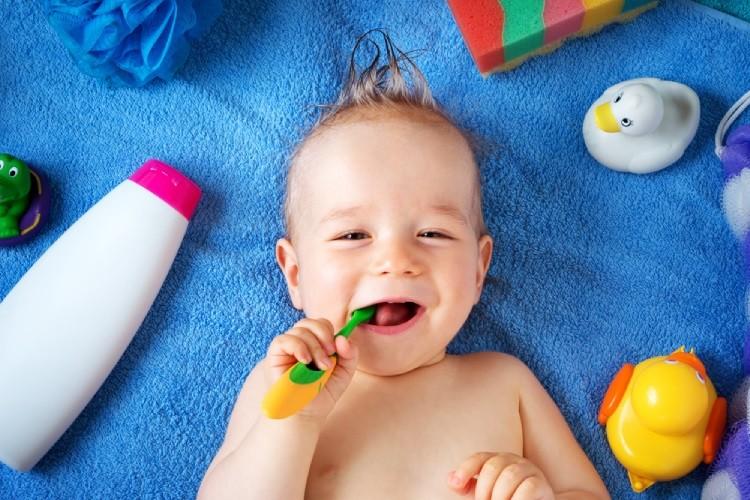 mẹo chữa chảy dãi ở trẻ