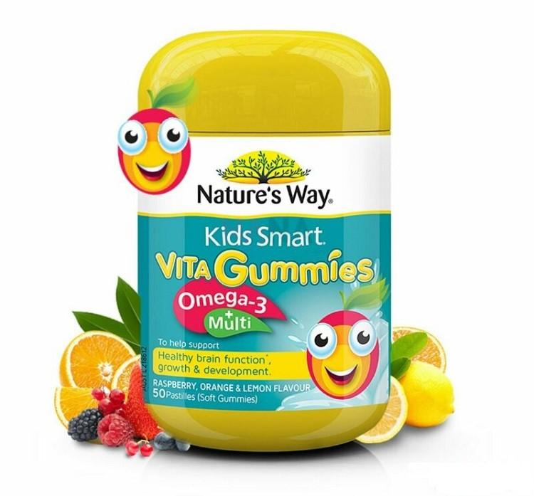 Kẹo Vita Gummies Omega3 Và Vitamin tổng hợp