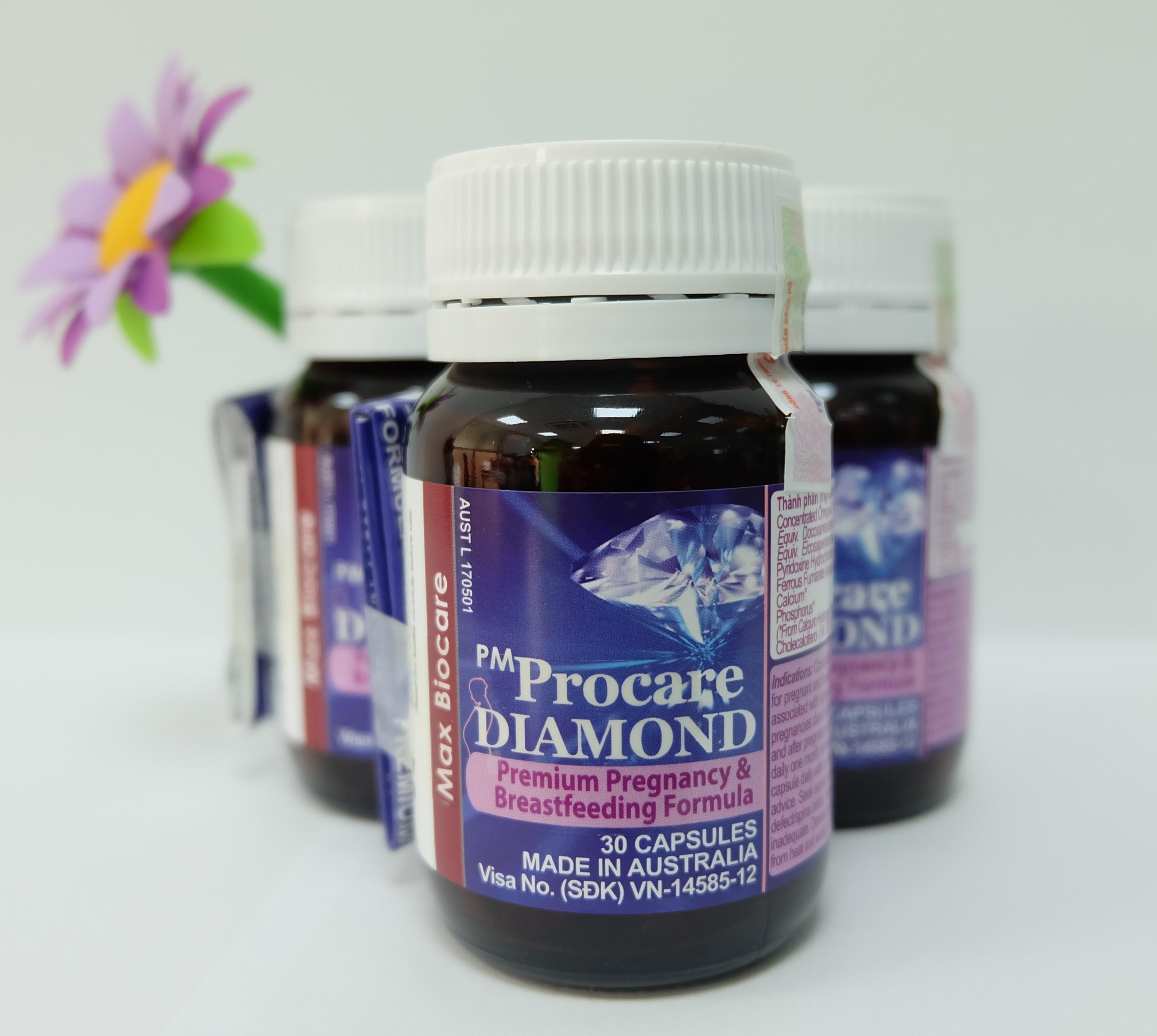 Viên uống PM Procare Diamond