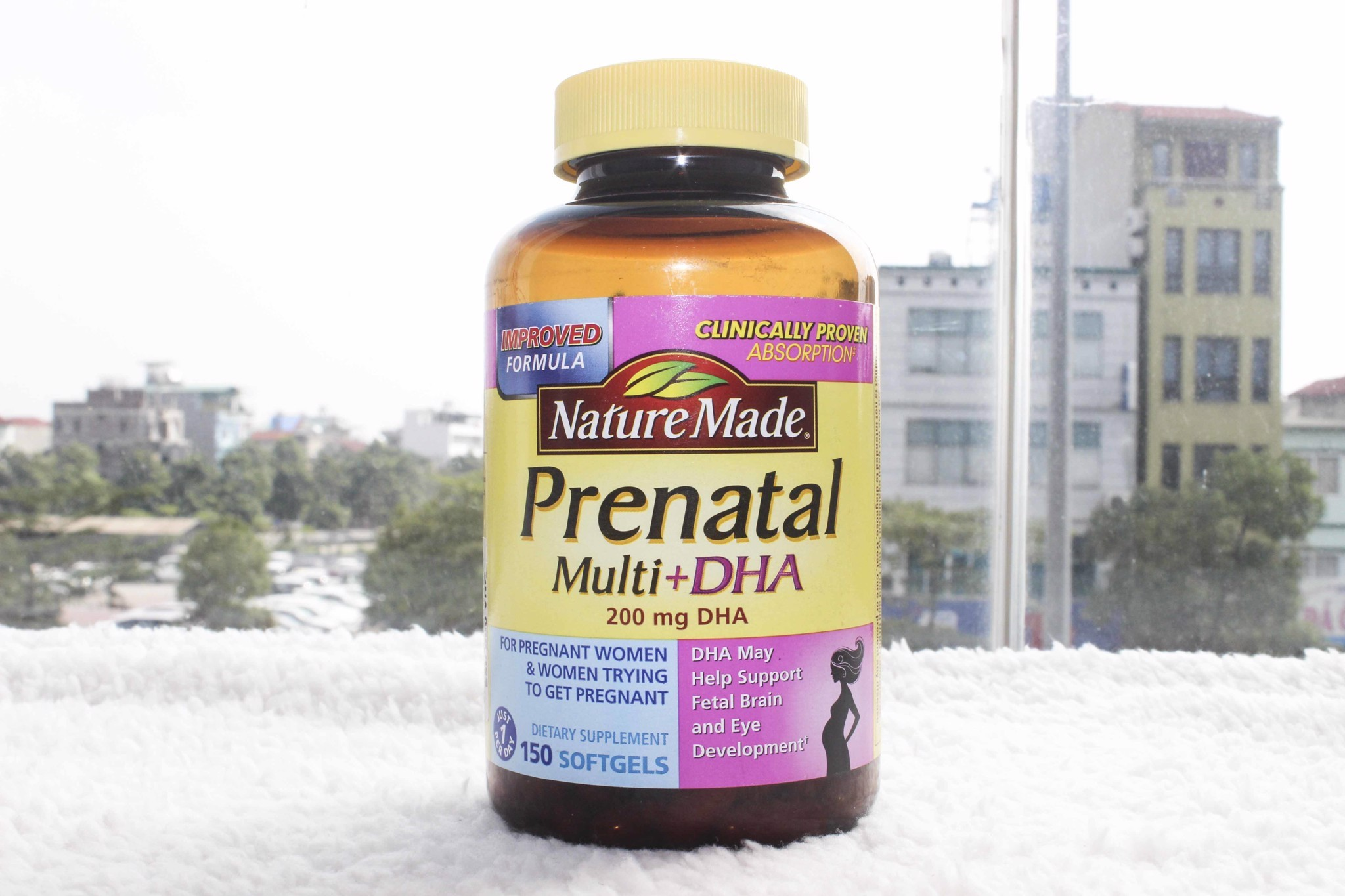 Viên uống Vitamin Nature Made Prenatal Multi + DHA