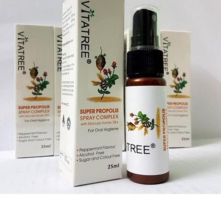 đối tượng sử dụng Xịt keo ong Vitafree của Úc