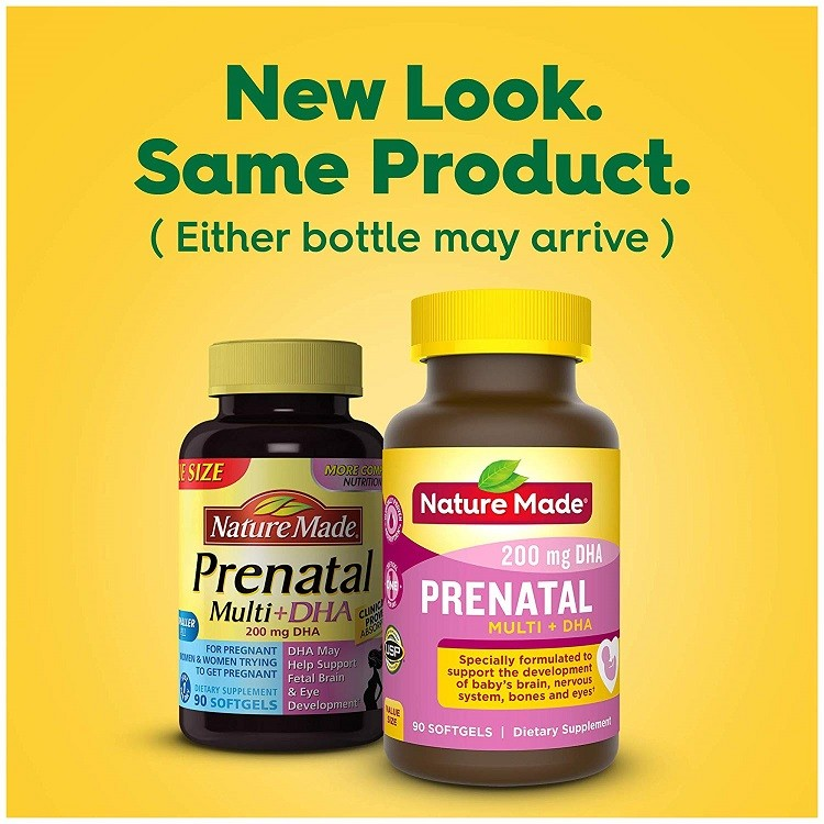 Prenatal Multi DHA Nature Made
