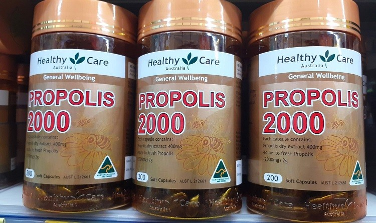 Keo ong Healthy Care Propolis 2000mg