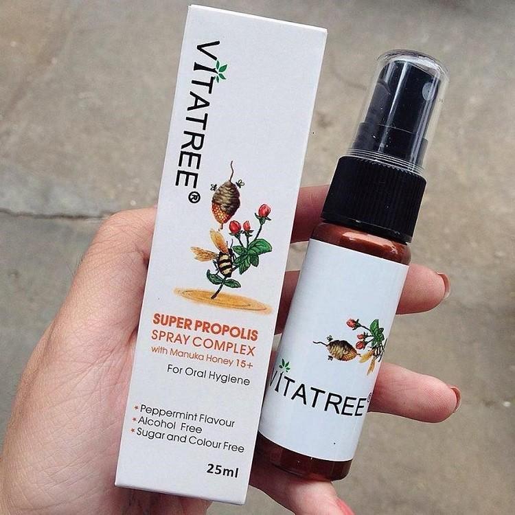 công dụng Xịt keo ong Vitafree của Úc