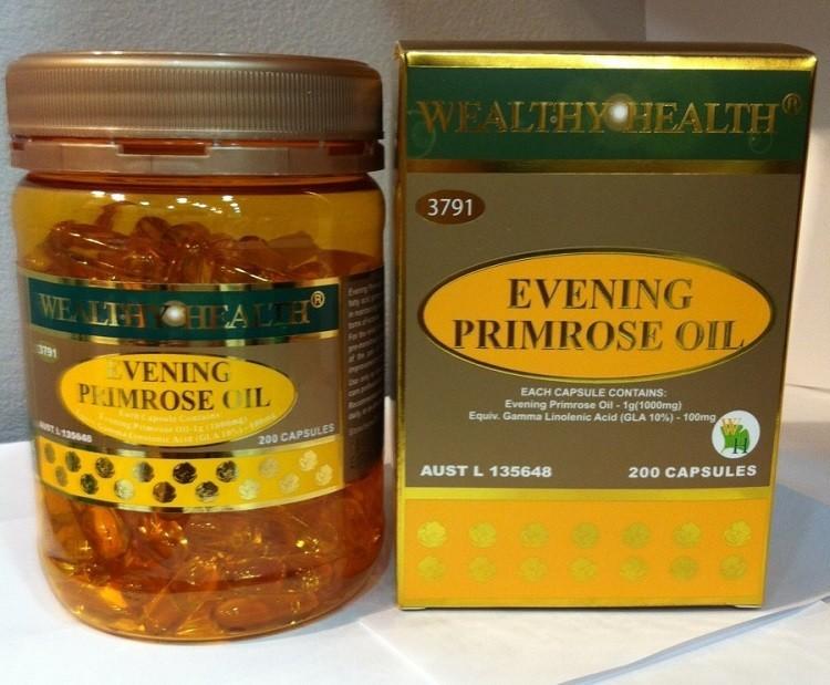 Wealthy Health Evening Primrose Oil
