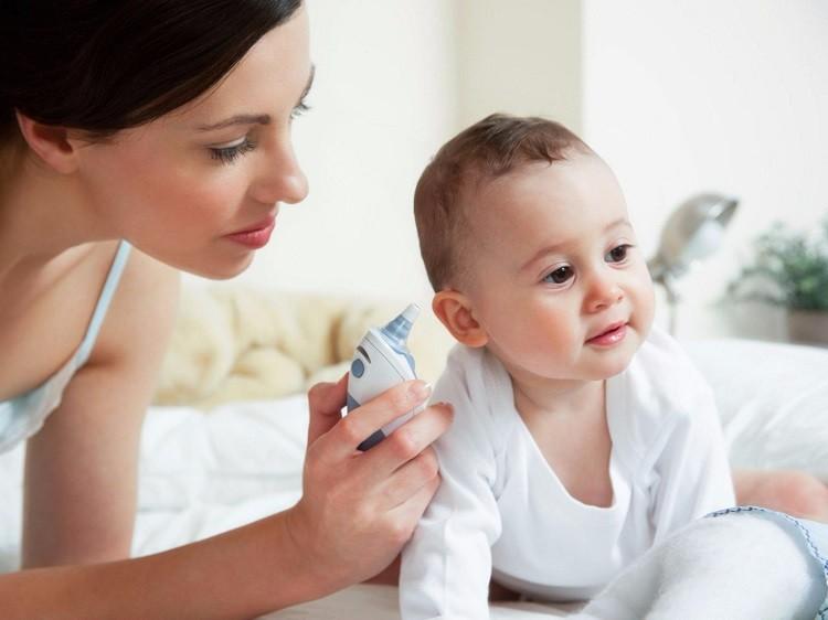 Vệ sinh mũi họng khi trẻ bị ho