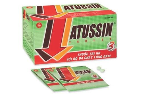 thuốc ho Atussin cho trẻ, siro trị ho Atussin, thuốc ho Atussin cho bé, thuốc ho trẻ em OPC giá bao nhiêu, giá thuốc ho trẻ em OPC