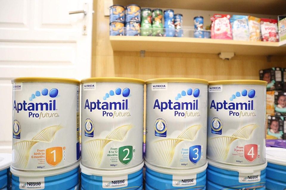 review sữa aptamil úc, cách pha sữa aptamil, sữa aptamil úc số 2, cách pha sữa aptamil úc số 1