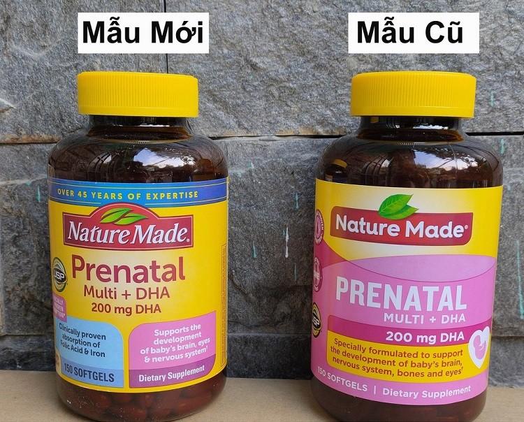 Nature Made Prenatal Multi + DHA reviews