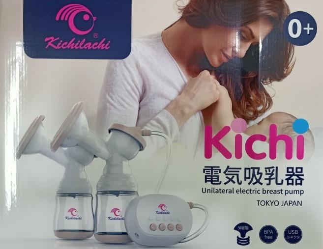 Review máy hút sữa điện đôi Kichilachi, máy hút sữa điện đôi Kichilachi