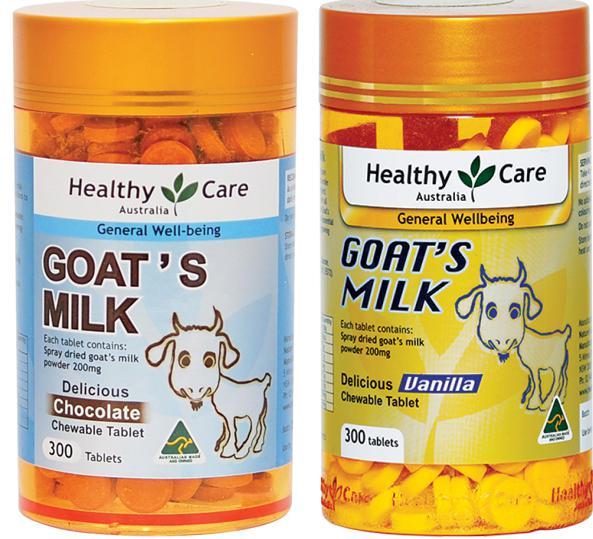 goat milk cream, goats milk moisturising cream, Healthy Care Goat Milk, Healthy Care Goat Milk vanilla flavour chewable 300 tablets, Healthy Care Goat Milk chocolate 300 tablets, Healthy Care Goat Milk vanilla flavour chewable, Healthy Care Goat Milk 300 tablets