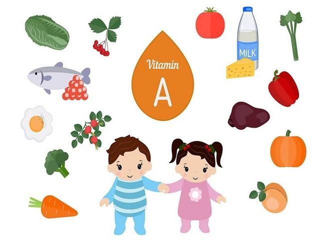 Trẻ uống vitamin A có bị sốt không